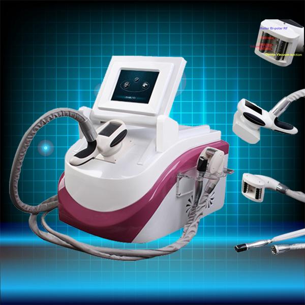 beauty equipment factory with best price body vacuum portable biopolar rf beauty machine